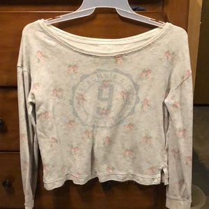Abercrombie and Fitch off the shoulder sweater